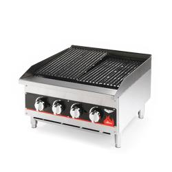 Vollrath - 407302 - 24 in Cayenne Medium Duty Gas Charbroiler image