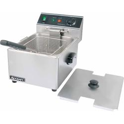 Adcraft - DF-6L - 13 lb Electric Countertop Fryer image