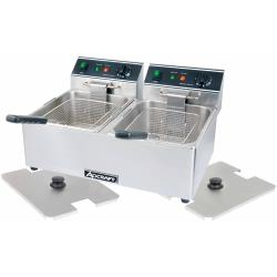 Adcraft - DF-6L/2 - 26 lb Electric Countertop Fryer image