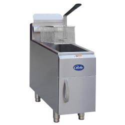 Globe - GF15G - 15 lbs Natural Gas Countertop Fryer image