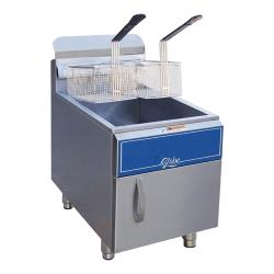 Globe - GF30G - 30 lbs Natural Gas Countertop Fryer image