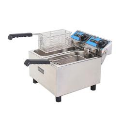Uniworld - UEF-062 - Economy 6L Double Countertop Fryer image