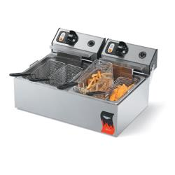 Vollrath - 40708 - Cayenne® Dual 220V Countertop Fryer image