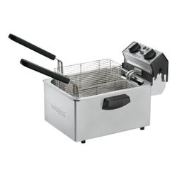 Waring - WDF75B - 8 1/2 Lb Electric Countertop Fryer - 208V image