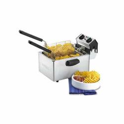Waring - WDF75RC - 8 1/2 Lb Electric Countertop Fryer - 120V image