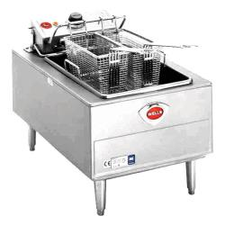 Wells - F-55 - 15 lb. Half Basket Single Pot Electric Fryer   image