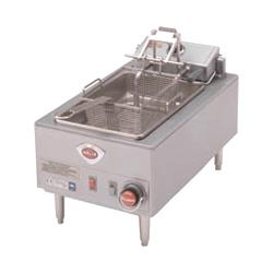 Wells - F-58 - 15 lb. Full Basket Single Pot Electric Fryer   image