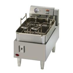 Wells - F-15 - 15 lb Half Basket Countertop Electric Fryer image
