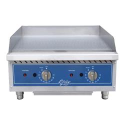 Globe - GG24TG - 24 in Thermostatic Controlled Natural Gas Countertop Griddle image