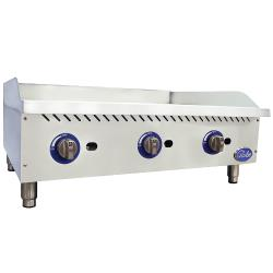 Globe - GG36G - 36 in Natural Gas Countertop Griddle image
