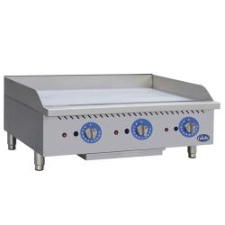 Globe - GG36TG - 36 in Thermostatic Controlled Natural Gas Countertop Griddle image
