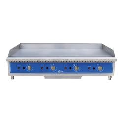 Globe - GG48TG - 48 in Thermostatic Controlled Natural Gas Countertop Griddle image