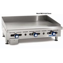 "Imperial - IMGA-2428 - 24"" Manual Control Gas Griddle image"