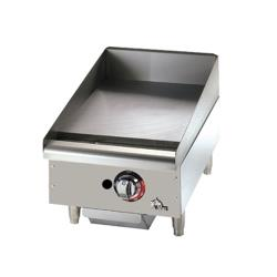Star - 615TF - Star-Max 15 in Thermostatic Control Gas Griddle image