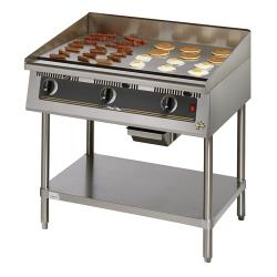Star - 824TSA - Ultra-Max® 24 in Snap-Action Thermostat Gas Griddle image