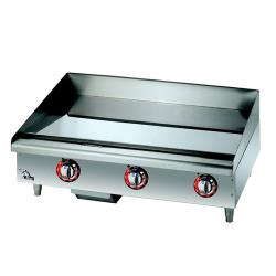 Star - 536CHSF - Star-Max® 36 in Chrome Electric Griddle image