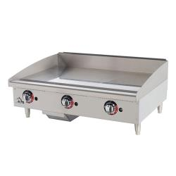 Star Manufacturing - 636TSPF - Star-Max 36 in Gas Griddle with Safety Pilot image