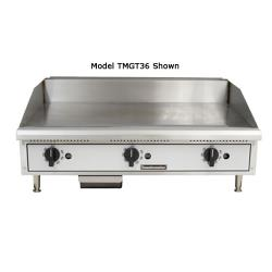 Toastmaster - TMGT48 - 48 in PRO-SERIES™ Thermostatic Countertop Gas Griddle image