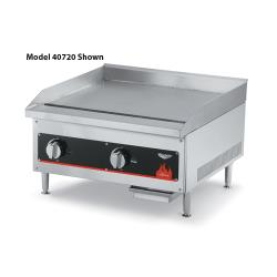 "Vollrath - 40718 - Cayenne® 12"" Manual Gas Flat Top Griddle image"