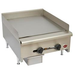 Wells - HDG-2430G - 24 in Manual Gas Griddle image