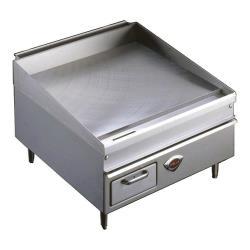 "Wells - WG-2424G - 24"" Thermostatic Gas Griddle image"
