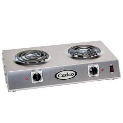 Cadco - CDR-1T - Double Side By Side Electric Hot Plate image