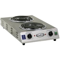 Cadco - CDR-2TFB - Double Spacer Saver Hot Plate - 220V/3,000W image
