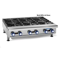 "Imperial - IHPA-2-24 - 24"" Hot Plate w/ 2 Burners image"
