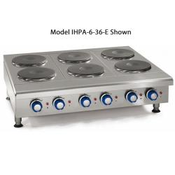 "Imperial - IHPA-3-36-E - 36"" Electric Hot Plate w/ 3 Burners image"