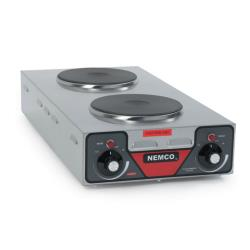Nemco - 6310-3 - 120V Vertical Double Burner Hot Plate image