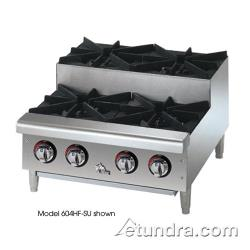 Star Manufacturing - 802HA-SU - Star-Max® 2 Burner Step-Up Gas Hot Plate image