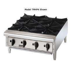 "Toastmaster - TMHP4 - Pro-Series™ 24"" Countertop Gas Hot Plate image"