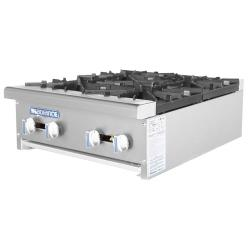 Turbo Air - TAHP-24-4 - Radiance 24 in Open Top Hot Plate image