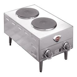 Wells - H-70 - French Hot Plate w/ 2 Burners image