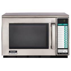 Sharp Electronics - R-22GTF - 1200 Watt Digital Commercial Microwave Oven image