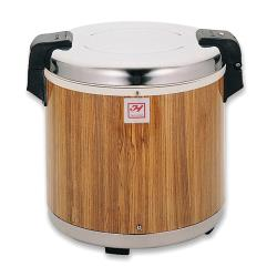 Thunder Group - SEJ21000 - 50 Cup Wood Grain Rice Warmer image