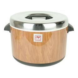 Thunder Group - SEJ73000 - 60 Cup Wood Grain Sushi Pot  image