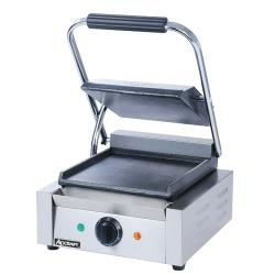 Adcraft - SG-811/F - 8 in Smooth Sandwich Grill image