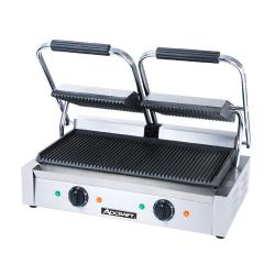 Adcraft - SG-813 - 16 inGrooved Sandwich Grill image