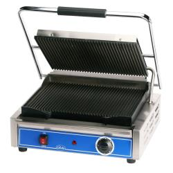 Globe - GPG1410 - Mid-Sized Grooved Panini Grill image