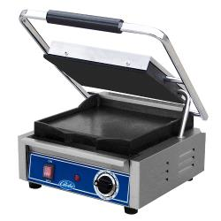 Globe - GSG10 - Single Bistro Panini Grill with Smooth Plates image