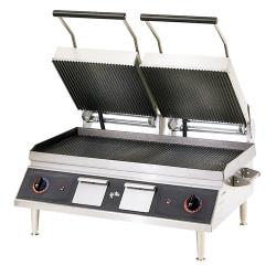 Star - CG28IB - Pro-Max® 28 in Grooved Sandwich Grill image