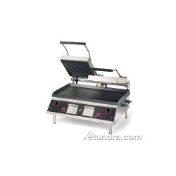 Star - CG28IEGT - Pro-Max® 28 in Grooved/Smooth Sandwich Grill with Electronic Timer image