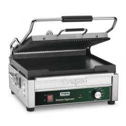 Waring - WDG250 - Double Panini Grill w/ Top Ribbed Plate image