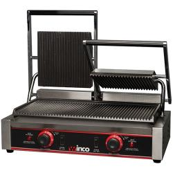 Winco - EPG-2 - 19 in Double Panini Grill image