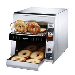 Star - QCS1-500B - Fast Compact Bagel Conveyor Toaster With 1 1/2 in Opening image