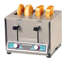 Toastmaster - HT409 - 120V 4 Slot Combo Pop-Up Toaster image