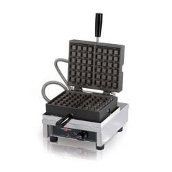 Krampouz - KWM09-1BR46515 - 120V Single Brussels Belgian Waffle Maker image