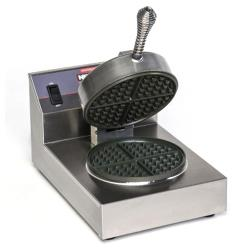 Nemco - 7000A-S - Single Belgian Waffle Baker with Silverstone Plates image