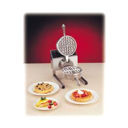 Nemco - 7020A-1 - Single Belgian Waffle Baker with Fixed Grid image